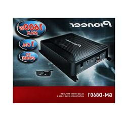 Pioneer GM-D8601 Class D Mono Amplifier with Wired Bass Boos