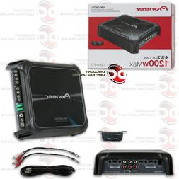 PIONEER GM-D8704 GM DIGITAL SERIES 4-CHANNEL CAR AUDIO AMP A