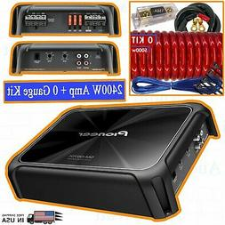 Pioneer GM-D9701 2400 Watts Class D Mono Amplifier Car Audio
