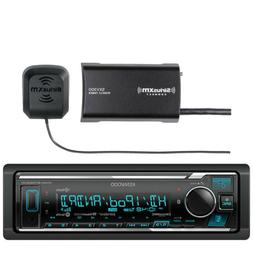 Kenwood In-Dash Stereo Receiver, Bluetooth, HD Radio, Pandor