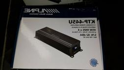 Alpine KTP-445A 4-channel amplifier 45 watts RMS x 4 at 2 to