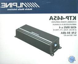 Alpine KTP-445A Power Pack Compact 4 channel Amplifier for A