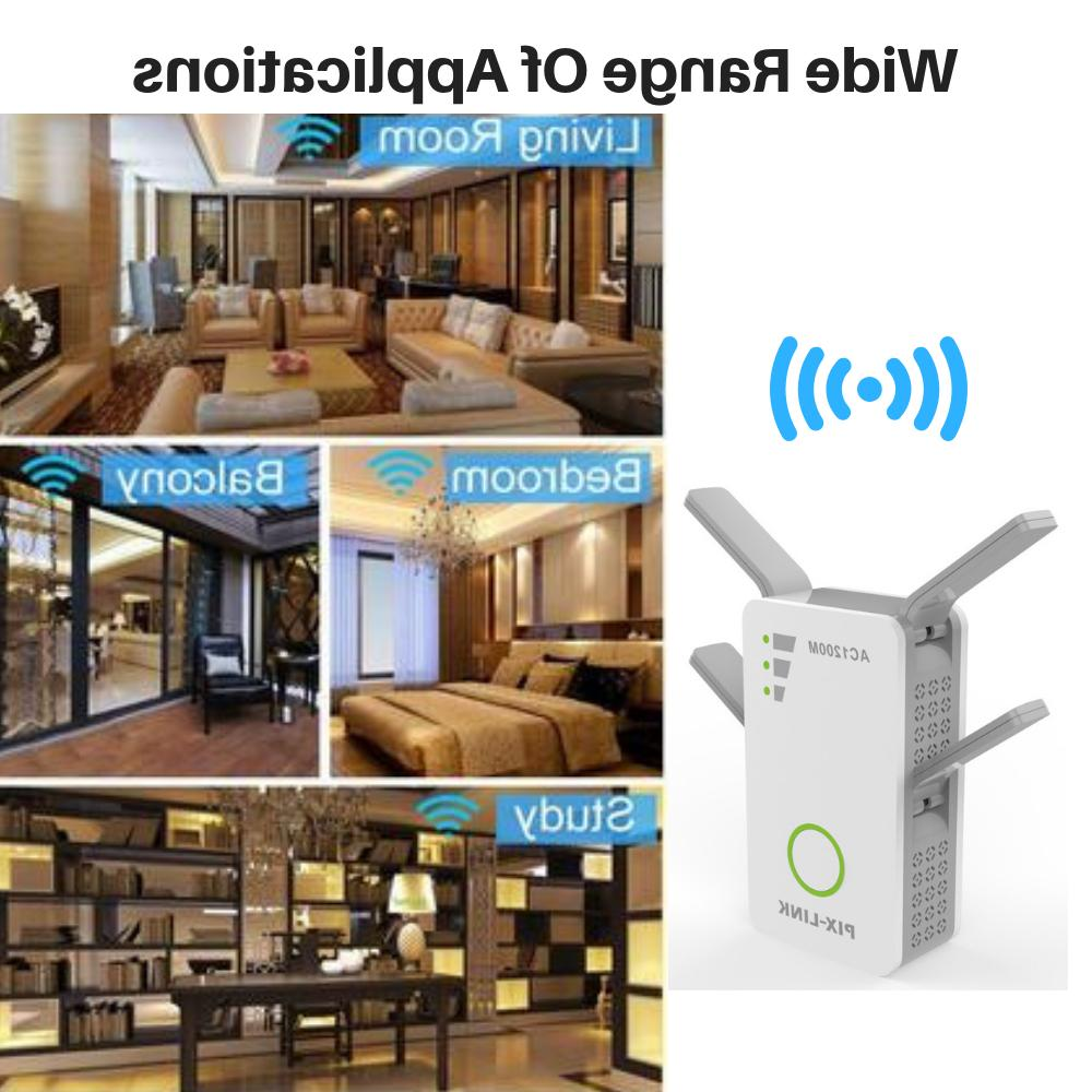 1200Mbps Range Extender Repeater Router Signal