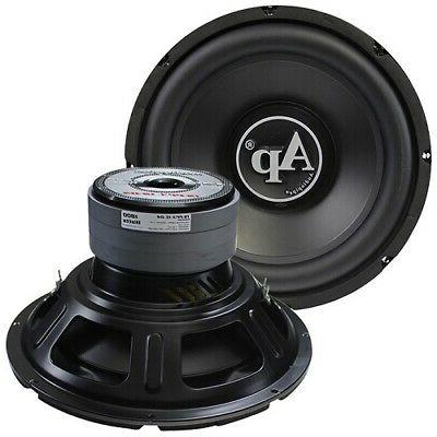 "15"" Subwoofer 1800w Max Audiopipe Dual 4 Ohm 120 Oz Triple S"