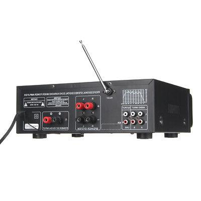 2000W Home Stereo Amplifier Equalizer SD