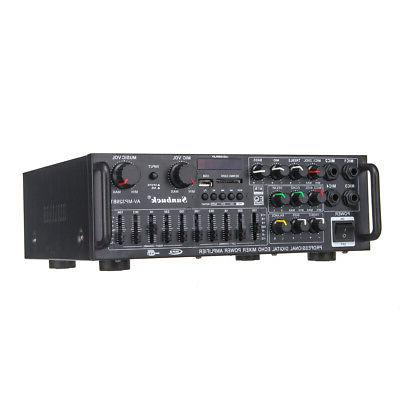2000W Home Amplifier Powered Equalizer Receiver