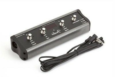 4 button footswitch mustang series amplifiers