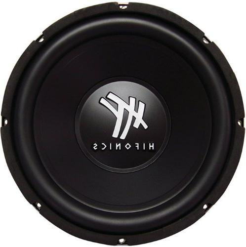 "4) 12"" 2400W Car Audio DVC Subwoofers Bass"