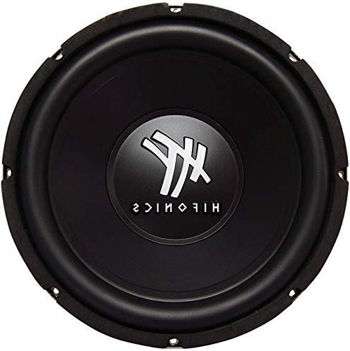 4) 2400W Audio DVC Subwoofers Bass