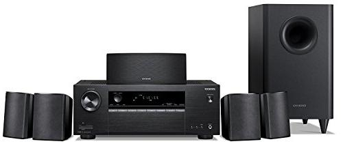 Onkyo HT-S3900 5.1-Channel Home Theater Receiver/Speaker Pac