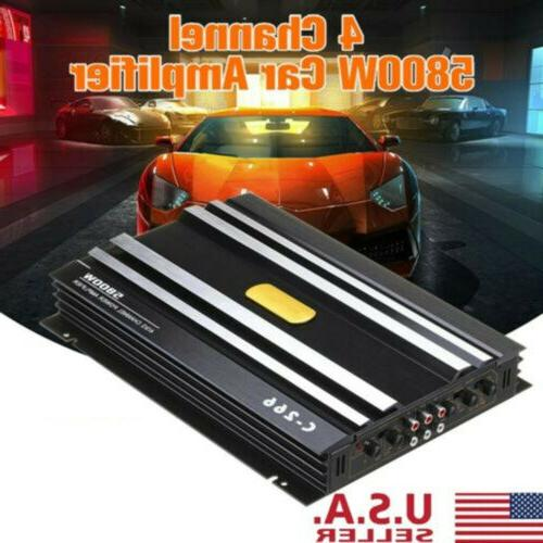 5800w watt 4 channel dc 12v car