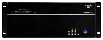 8 channel home theater amplifier rack mount