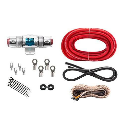 Ds18 8 Gauge Amp Kit Amplifier Install Wiring Complete 8 Manual Guide