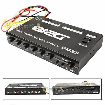 DS18 DS-KEQ5 DS18 Five Band Graphic Equalizer Six