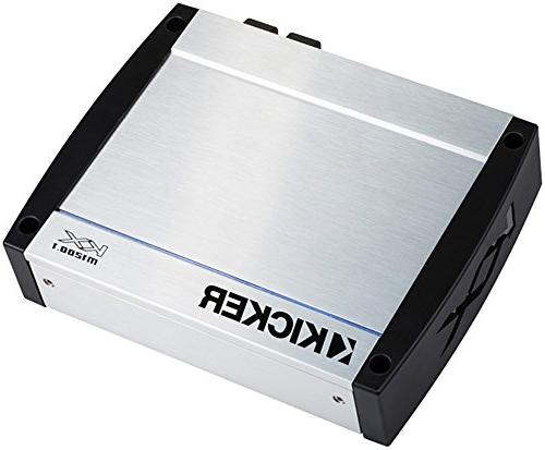 Kicker - Kxm Series 1200w Class D Mono Marine Amplifier - Gr