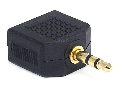 Monoprice 107204 3.5mm Stereo Plug to 2 x 3.5mm Stereo Jack