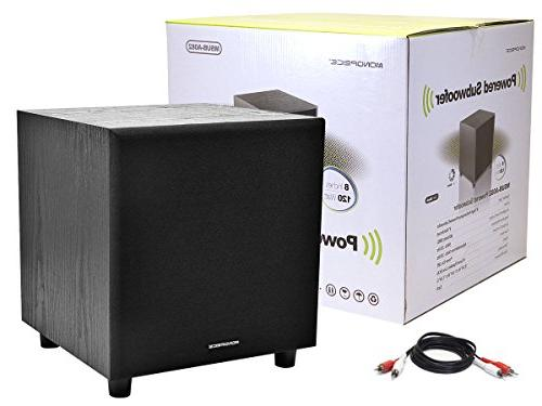 Monoprice 108248 8-Inch Powered Subwoofer