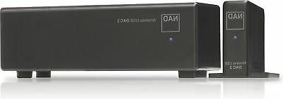 Nad - Dac 2 Wireless Usb Dac - Black
