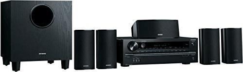 Onkyo HT-S3700 5.1-Channel Home Theater Receiver/Speaker Pac