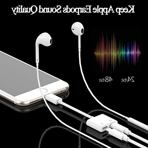 Headphone for Adapter Call & sync Compatible for Dongle Accessory Adaptor Compatible 10.3 Higher