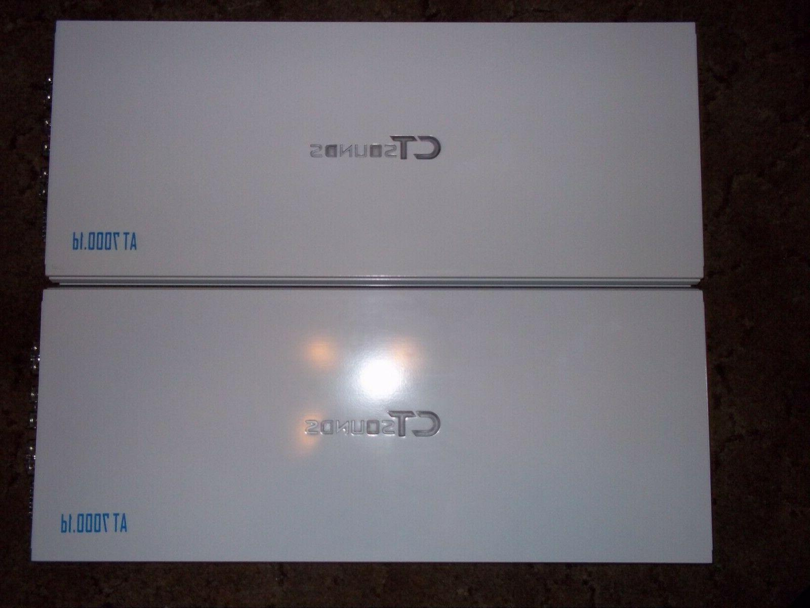 at7000 1d amplifier 2 units both new