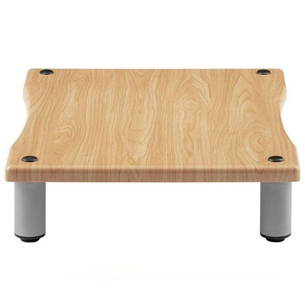 Audio Amplifier Amp Media Component Unit Stand Steel Wood