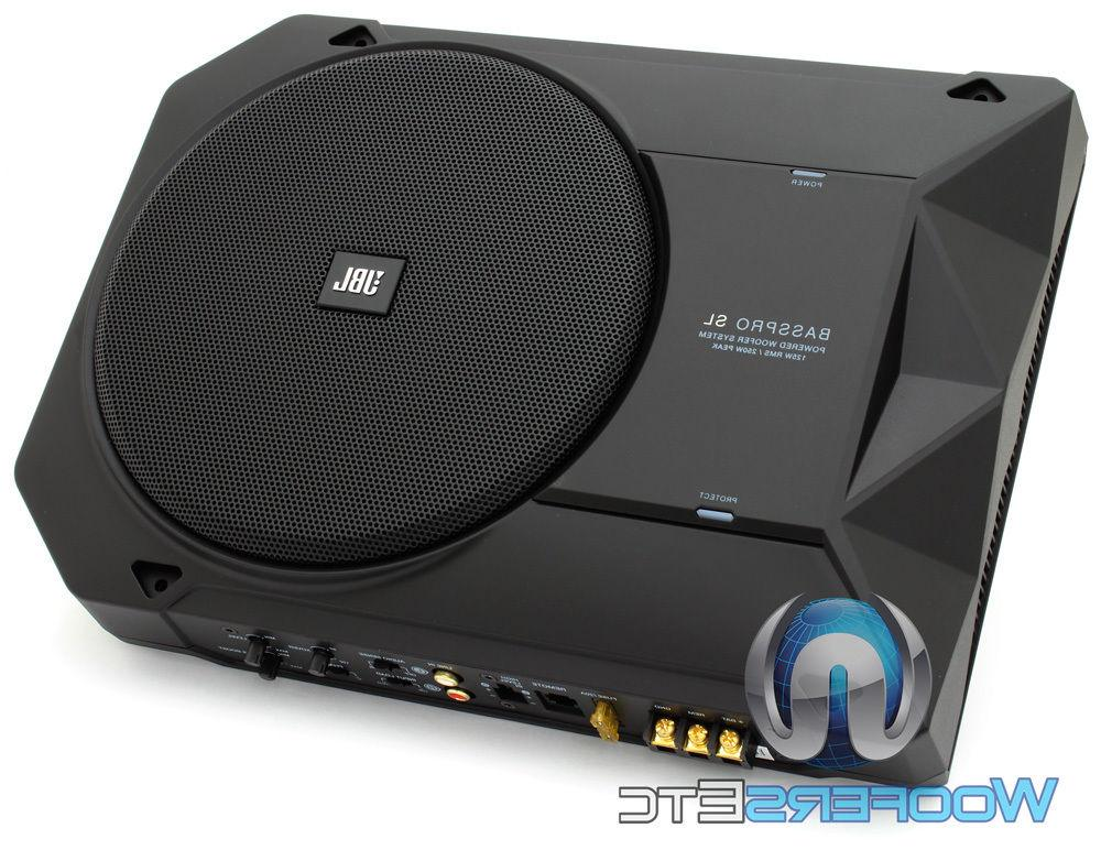 JBL BASSPROSL Powered Underseat Subwoofer System