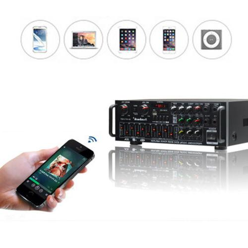 usb eq amplifiers home theatre bluetooth stereo