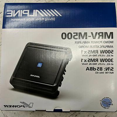 car mono subwoofer amplifier mrv m500