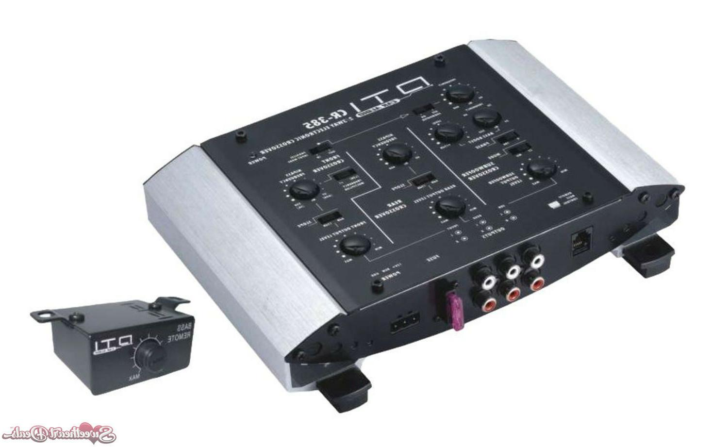 Diplomat Trading DTICR385 2 - 3 Way Electronic Crossover