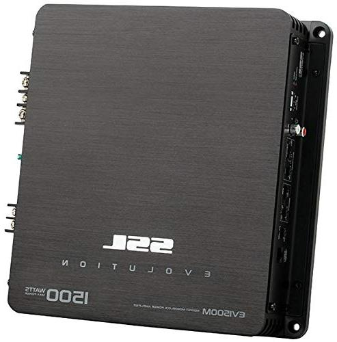 Sound 1,500-Watt Monoblock High/Low Crossover Level Control