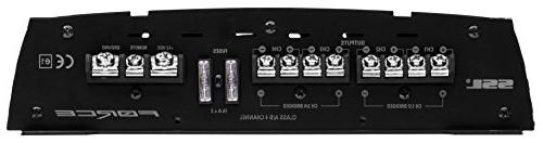 Sound Storm 1600 Watt, 2 to 8 Ohm Stable Class A/B, Range, MOSFET Amplifier Control