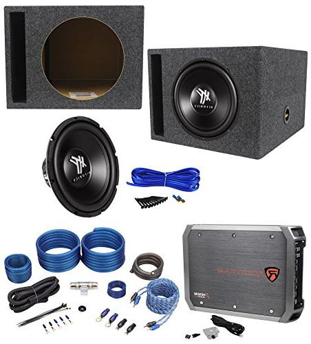 hfx12d4 car subwoofer vented sub