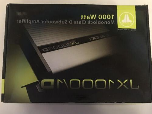 jx1000 1d car stereo mono subwoofer amplifier