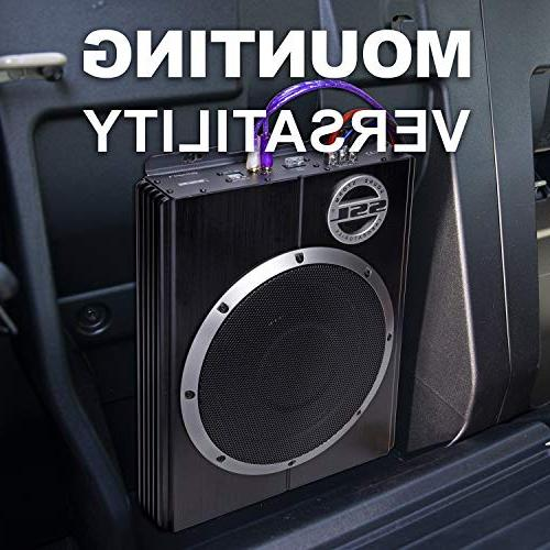 Sound Storm Car Subwoofer 1200 Watts Power, Profile, Inch Remote Subwoofer For Vehicles Bass But Have Space