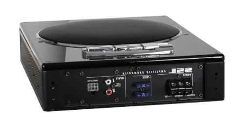 Sound LOPRO8 Car Watts Power, Profile, 8 Remote Subwoofer Great For Bass Limited Space