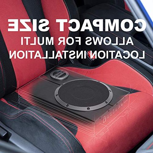 Sound Amplified Car Subwoofer - Watts Max Profile, 8 Subwoofer, Remote Subwoofer Control, For That Bass Space