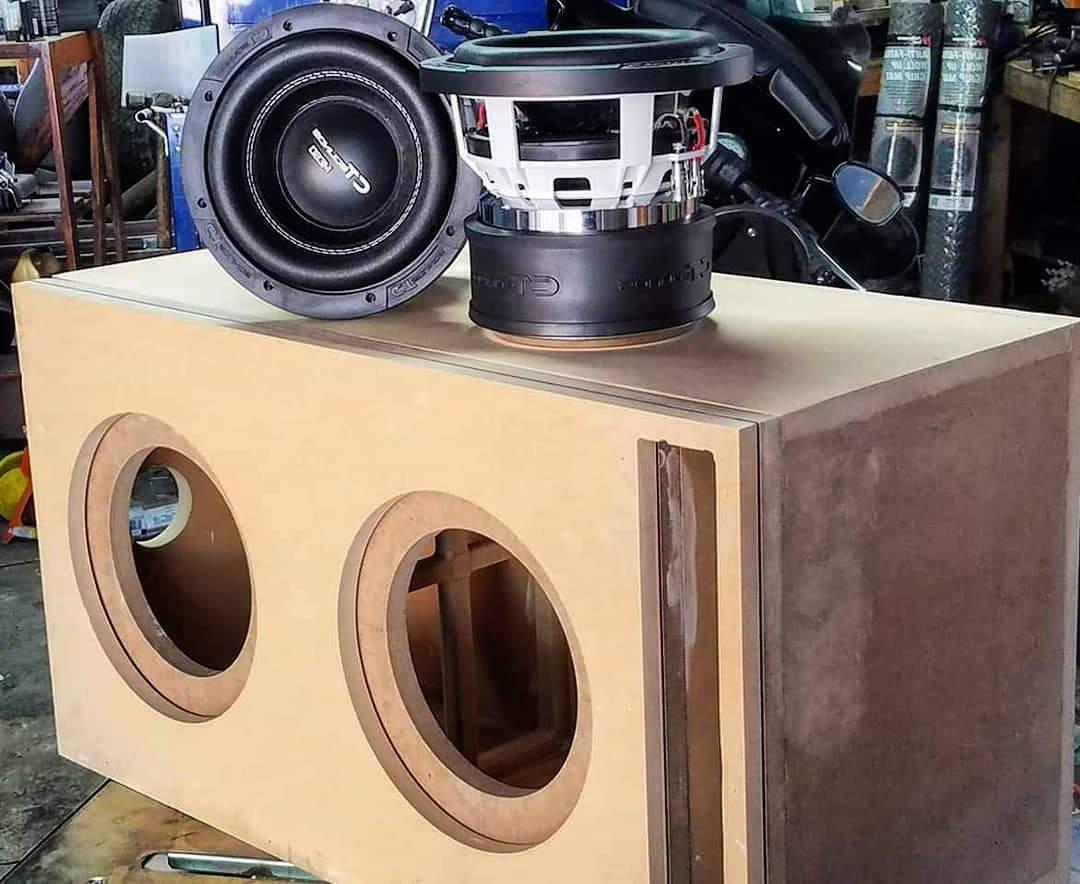 "CT Meso 8 D2 800 8"" Dual 2 Ohm Car Subwoofer Power"
