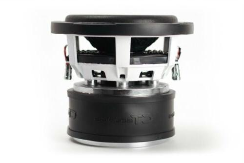 "D2 watt 8"" Dual 2 Ohm Car"