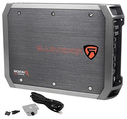 Hifonics HFX12D4 Car Amplifier+Amp Kit