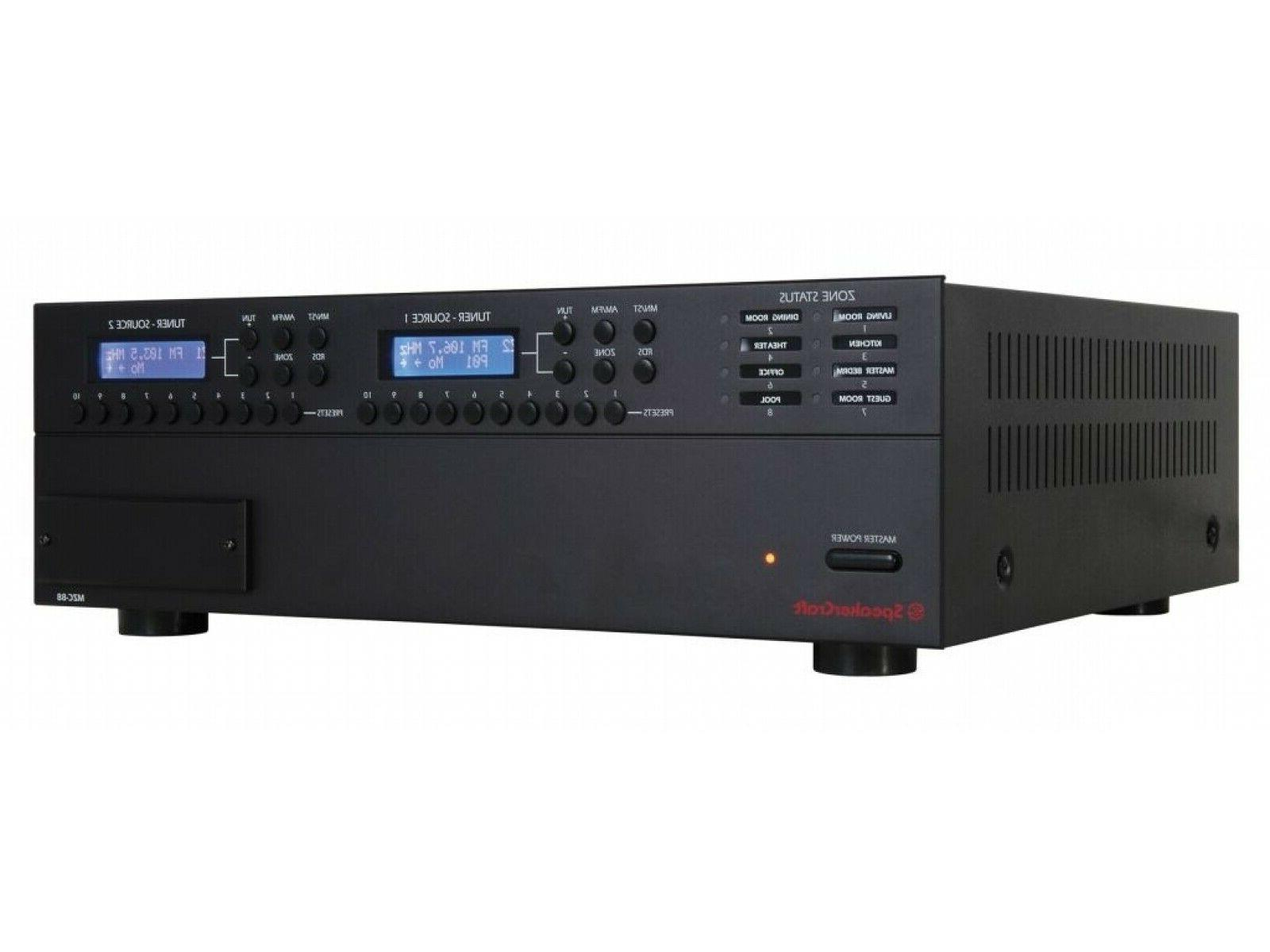 mzc 88 whole home amplifier amp 8