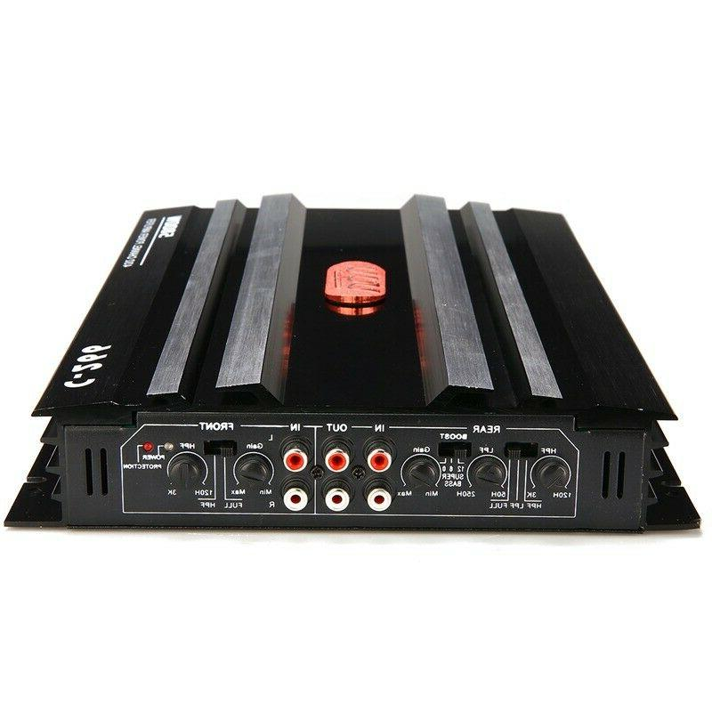 5800W 4 Channel Car Amplifier Bass Subwoofer Power 12V DC