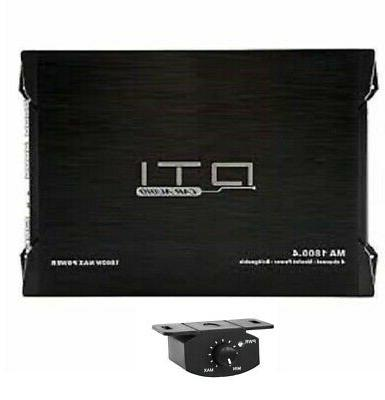 NEW DTI MA1800.4 4 CHANNEL 1800 WATTS MAX CAR AUDIO STEREO A