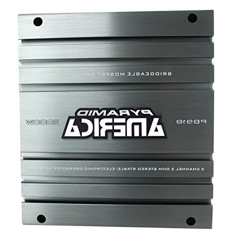 Pyramid PB918 2,000-Watt Bridgeable Mosfet Amplifier