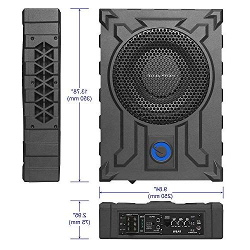Planet Audio PA8W Profile 800 Watts, Remote Subwoofer