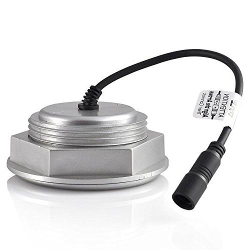 Waterproof Bluetooth Receiver - Weatherproof Channel Stereo Speaker Watt Power, Wired AUX and MP3 Input Cable PLMRMBT5S