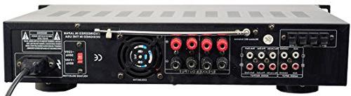 New Pyle Pro 3000W Hybrid with AM/FM Tuner/USB/2 Mics