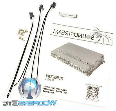 SOUNDSTREAM 5-CHANNEL COMPONENT SPEAKERS SUBWOOFER NEW