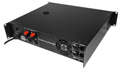 Rockville Watt 2 Channel Power Pro/DJ Amp