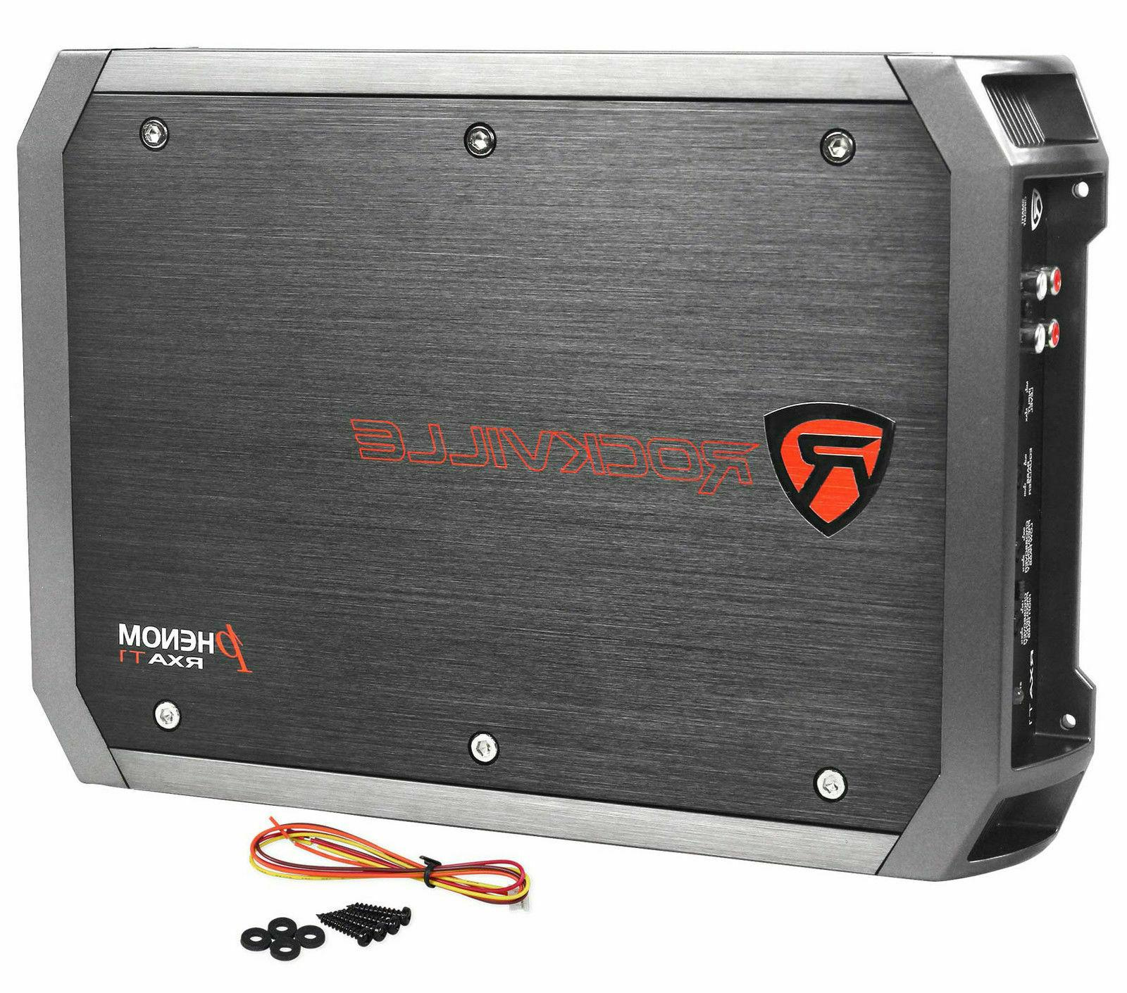 New Rockville RXA-T1 Watt 2 Channel Amplifier Car Amp